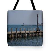 Along The Lakeshore Tote Bag