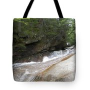 Along The Mountain Side Tote Bag