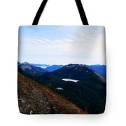Along The Mt Defiance Trail Tote Bag