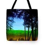 Along The Muddy River Tote Bag