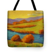 Along The River In Steamboat Springs II Tote Bag