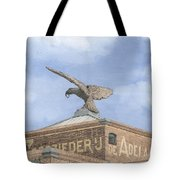 Along The River Zaan Zeepziederij De Adelaar Tote Bag