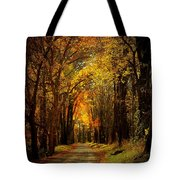 Along The Riverbank Tote Bag