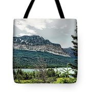 Along The Road To Many Glacier 4 Tote Bag