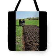 Along The Row  Tote Bag