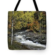 Along The Rural Road Tote Bag