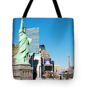 Along The Strip Tote Bag