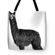 Alpaca Fine Art Tote Bag