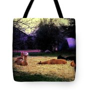 Alpacan Twilight Tote Bag