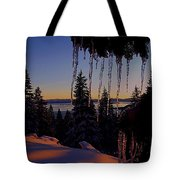 Alpenglow Claws Tote Bag
