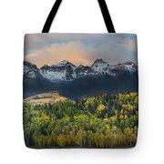 San Juan Mountains Fall Colors Sunrise Tote Bag