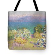 Alpes Maritimes From Antibes Tote Bag