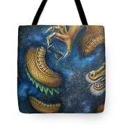Alpha And Omega Tote Bag