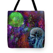 Alpha And Omega Electromagnetic Tote Bag
