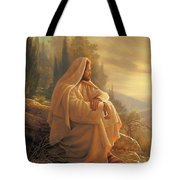 Alpha And Omega Tote Bag by Greg Olsen