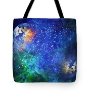 Alpha Centauri Abstract Moods Tote Bag