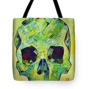 Alpha Skull Tote Bag
