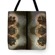 Alpha Waves - Gently Cross Your Eyes And Focus On The Middle Image Tote Bag