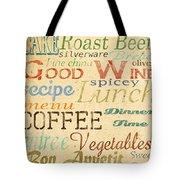 Alphabet Soup-a Tote Bag