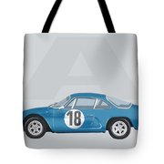Alpine A110 Tote Bag by TortureLord Art