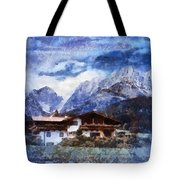 Alpine Bliss Tote Bag