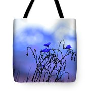 Montana Blue Bells Tote Bag