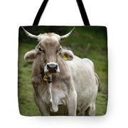 Alpine Cow Tote Bag