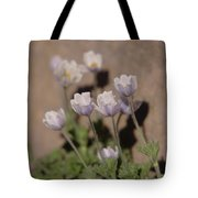 Alpine Flowers Tote Bag