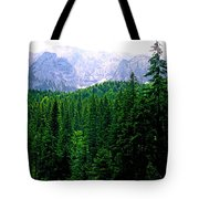 Alpine Forest Tote Bag