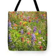 Alpine Glory In Canada Tote Bag