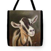 Alpine Goat Tote Bag