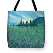 Alpine Hillside Tote Bag