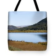 Alpine Lake In The Arapahoe National Forest Tote Bag