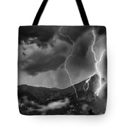 Alpine Lightning Tote Bag
