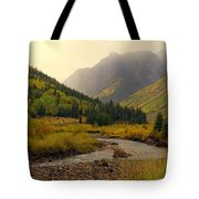 Alpine Loop Fall Tote Bag