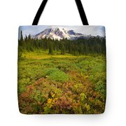 Alpine Meadows Tote Bag