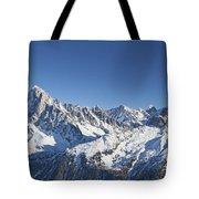 Alpine Panorama Tote Bag
