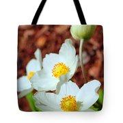 Alpine Pasqueflower Tote Bag
