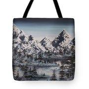 Alpine Peaks Tote Bag