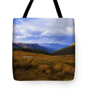 Alpine Pond Tote Bag