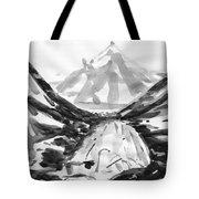 Alpine River Tote Bag