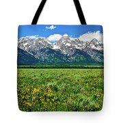 Alpine Spring Tote Bag