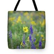 Alpine Sunflower Tote Bag
