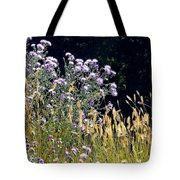 Alpine Thistles And Grasses Tote Bag