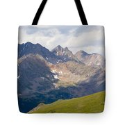 Alpine Tundra And The Colorado Continental Divide Tote Bag