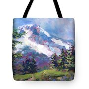 Alpine View Tote Bag