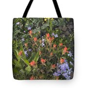 Alpine Wildflowers Hurricane Ridge 4031 Tote Bag