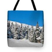 Alpine Winter Tote Bag