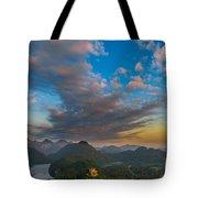 Alpsee Lake Tote Bag