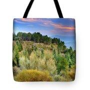 Alpujarras Forest At Sunset Tote Bag